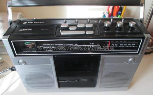 AM/AM Stereo Cassette Tape Recorder RS-451S; Panasonic, (ID = 1854826) Radio