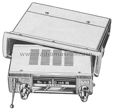 ATP-100; Panasonic, (ID = 2253977) Car Radio