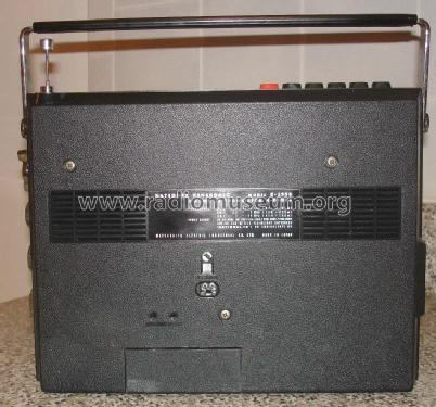 Cassette / Radio AC-Battery Solid State R-530B Radio Panason