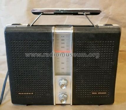 Dual Speaker Tuned RF Stage R-1837; Panasonic, (ID = 2411782) Radio