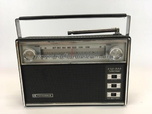 Panasonic FM-AM Solid State RF-738 Radio Panasonic, Matsushi