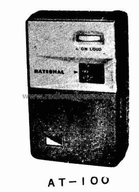 National AT-100; Panasonic, (ID = 1691520) Radio