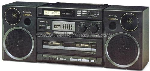 Portable Stereo Component System RX-CT990; Panasonic, (ID = 1995565) Radio