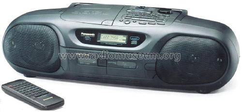 Portable Stereo CD System RX-DT55; Panasonic, (ID = 1995569) Radio