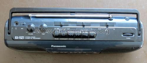 Radio Recorder RX-FS 21 Radio Panasonic, Matsushita, Nationa