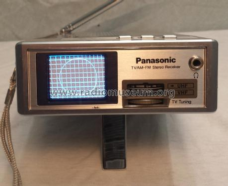 Travelvision TV/AM-FM Stereo Receiver TR-1020P; Panasonic, (ID = 2201494) TV Radio