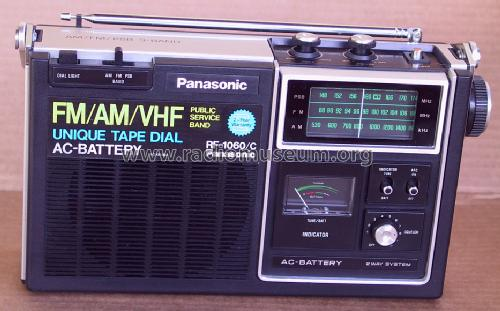 AM-FM-PSB 3 Band Radio RF-1060/C; Panasonic, (ID = 1402117) Radio