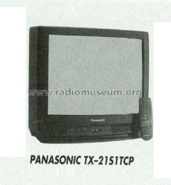 Colour Television TX-21S1TCP; Panasonic, (ID = 1211304) Television