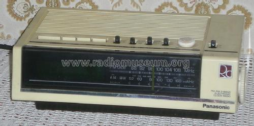 FM-AM 2-Band Electronic Clock Radio RC-6050; Panasonic, (ID = 1536462) Radio