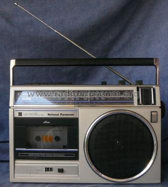 FM-AM 2-Band Radio Cassette Recorder RX-1490A; Panasonic, (ID = 1469224) Radio