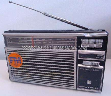 FM-AM 2-Band RF-524; Panasonic, (ID = 1526513) Radio