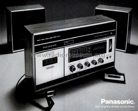 FM/AM Stereo Cassette RS-253S; Panasonic, (ID = 1194530) Radio