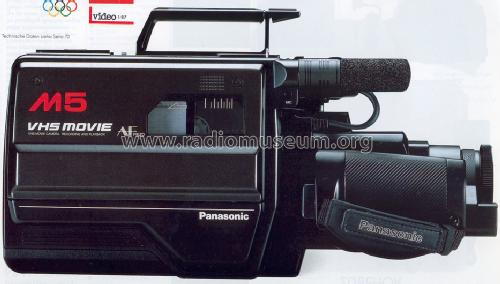 VHS Movie Camera Recording And Playback NV-M5; Panasonic, (ID = 1265671) R-Player
