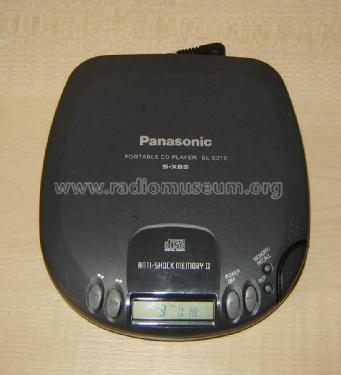 Portable CD Player SL-S210; Panasonic, (ID = 1173164) R-Player