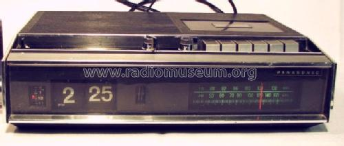 FM-AM Digital Clock/Cassette Radio RE-6600B; Panasonic, (ID = 962164) Radio