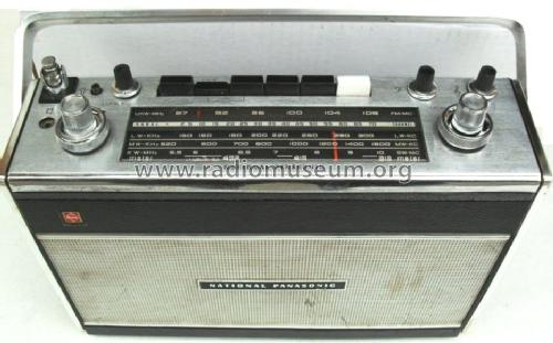 National Panasonic FM-AM 4-Band RF-895 L; Panasonic, (ID = 965884) Radio