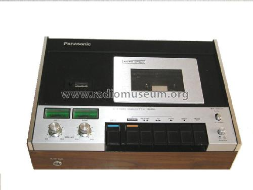 Stereo Cassette Deck RS-260US; Panasonic, (ID = 288712) R-Player