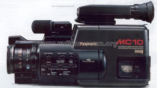 VHS-C Movie Camera NV-MC10 EG; Panasonic, (ID = 1266098) Reg-Riprod