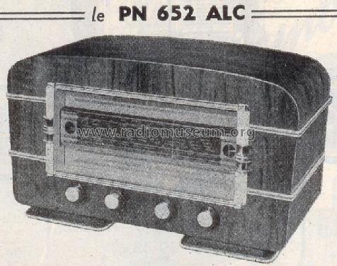 pn 652 alc radio parinor pi ces paris build 1951 4 pictur. Black Bedroom Furniture Sets. Home Design Ideas