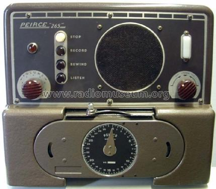 Wire Recorder Peirce 265 ; Peirce Wire Recorder (ID = 814638) R-Player
