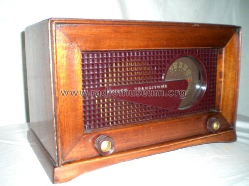 Transitone 'Flying Wedge' 49-506; Philco, Philadelphia (ID = 2269931) Radio