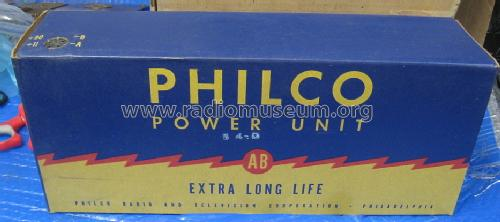AB Power Unit P-60D-11L; Philco, Philadelphia (ID = 1506956) Power-S