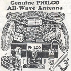Genuine Philco All-Wave Antenna Antenna Philco, Philadelphia