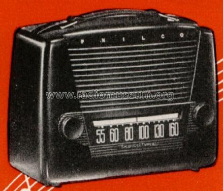 411 Radio Philco Products Ltd