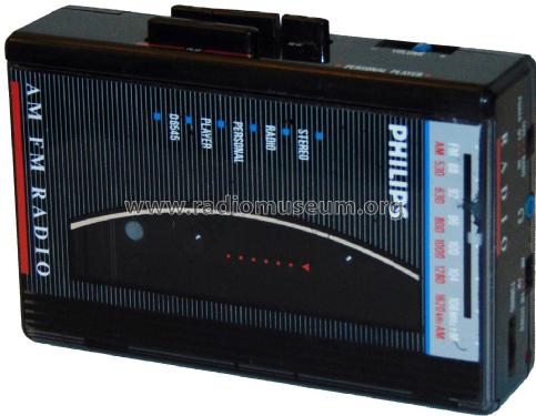 Stereo Personal Player AM FM Radio D6545; Philips Thailand; (ID = 2072834) Radio