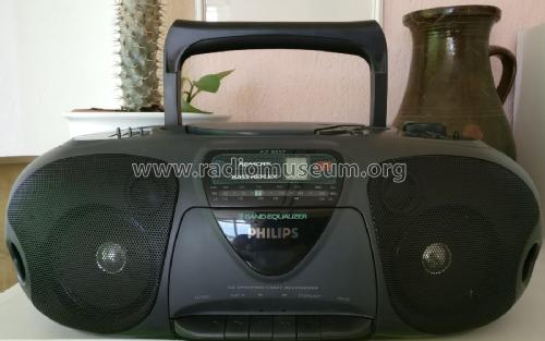 CD Radio Cassette Recorder AZ 8057/00; Philips; (ID = 2278138) Radio