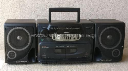 Radio Cassette Recorder AW 7550 /14; Philips Hong Kong (ID = 2277274) Radio