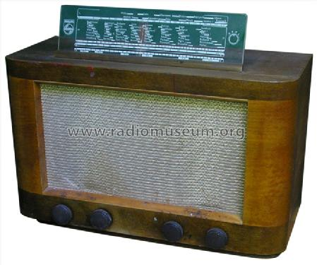 BN463A-3; Philips Norway Norsk (ID = 246408) Radio