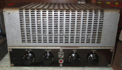 Amplifier 30W 956A; Philips Australia (ID = 2614520) Ampl/Mixer