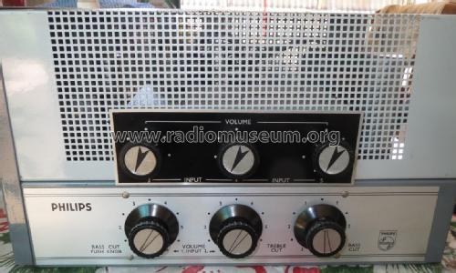 Amplifier 30W PA + Mixer Add On EV4435A/EV4403; Philips Australia (ID = 2396463) Ampl/Mixer