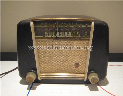 Radio 1950 Philips Philips Canada 818 Radio id