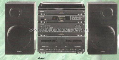 Audio System AS-9410; Philips; Eindhoven (ID = 2075798) Radio
