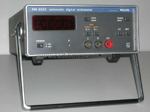 Automatic Digital Multimeter PM 2523; Philips; Eindhoven (ID = 2392186) Equipment