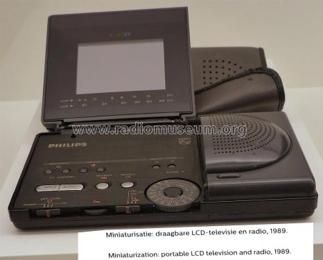 LCD Pocket Color Television 3LC2050 /10G; Philips; Eindhoven (ID = 2108070) TV Radio
