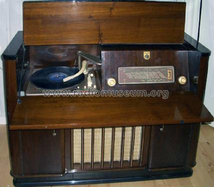 Opera Royal FDK543A; Philips Radio A/S; K (ID = 1001518) Radio