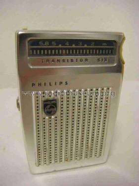 Transistor Six L0X10T /00G; Philips; Eindhoven (ID = 2487767) Radio