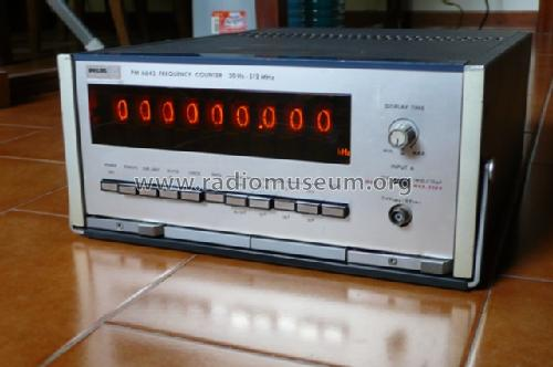 Frequency Counter PM6645 /01 /02 /03 /04 /05; Philips, Svenska AB, (ID = 1654745) Ausrüstung
