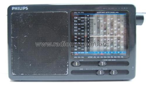 12-Band World Receiver D-1875; Philips Electrical (ID = 630100) Radio
