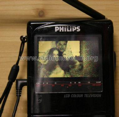 LCD Pocket Color Television 3LC1000/02R; Philips Electronics (ID = 1437980) Television