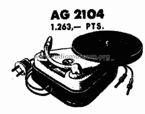 AG-2104-E; Philips Ibérica, (ID = 754436) R-Player