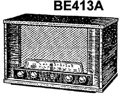 BE413A; Philips Iberica S.A. (ID = 231519) Radio