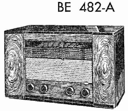 BE-482-A; Philips Ibérica, (ID = 231661) Radio