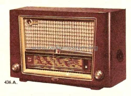 BF436A /01; Philips France; (ID = 1487800) Radio
