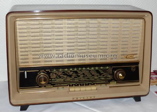 Bi-Ampli B5F96A AM/FM; Philips France; (ID = 1995161) Radio