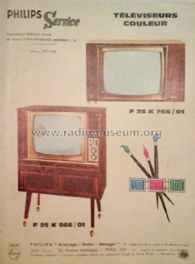 F25K766 /01 'TVC3'; Philips France; (ID = 2250615) Television