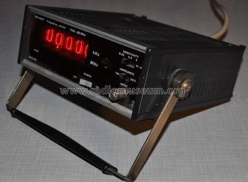 Frequency meter PM6607 /01 - 9446 066 07011; Philips, Svenska AB, (ID = 1813517) Equipment